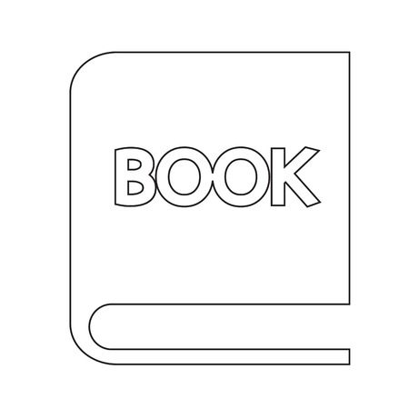 audiobook: book icon Illustration Art