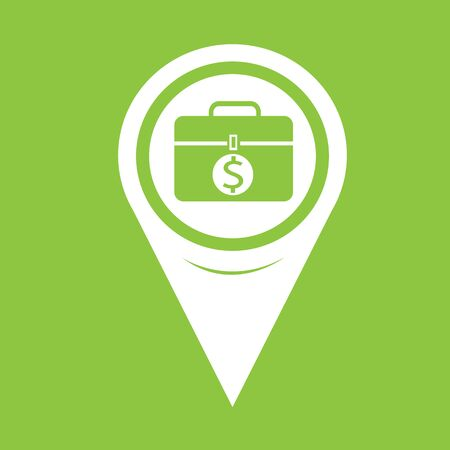 map pin: Map Pin Pointer Money icon Illustration
