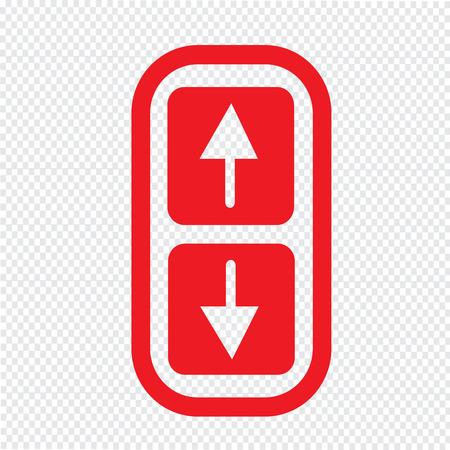 rebuild: Arrow up and down icon Illustration symbol design Illustration