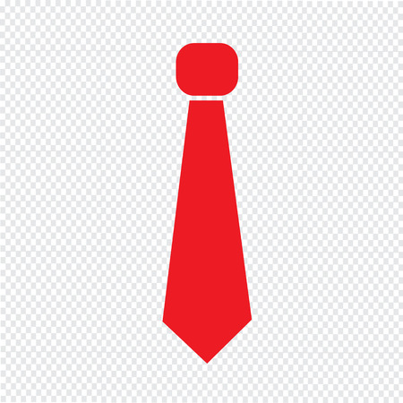 formal party: necktie icon Illustration sign design