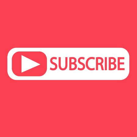 Subscribe icon symbol Illustration design Vectores