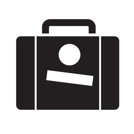 suit case: Suitcase icon Illustration design