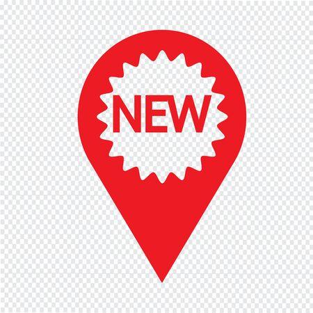 New icon Illustration symbol design