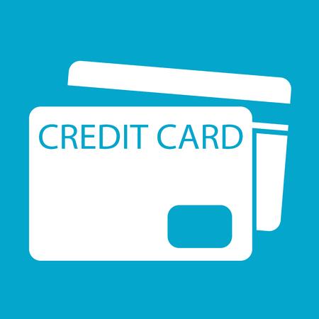 transact: Credit Card Icon symbol Illustration design