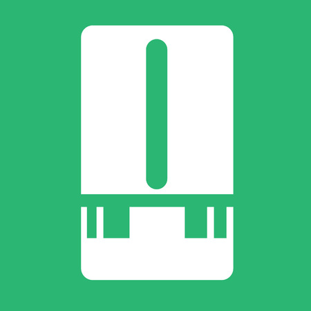 sensors: Weather Station meter icon Illustration design