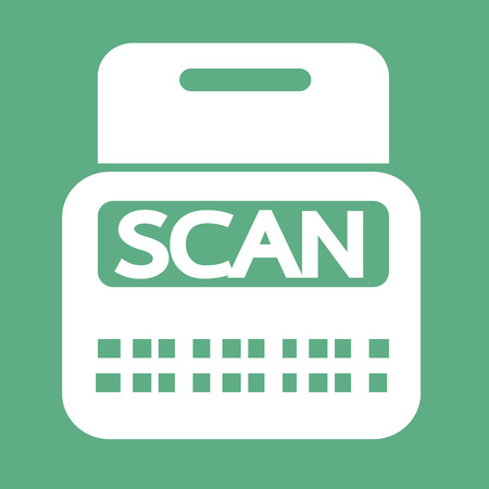 payer: Scan Stock Icon symbol Illustration design