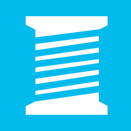 filament: tailor thread bobbin icon Illustration symbol design Illustration