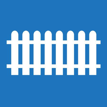 fencepost: Fence Icon Illustration design