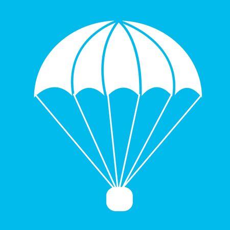 para: parachute icon Illustration symbol design Illustration