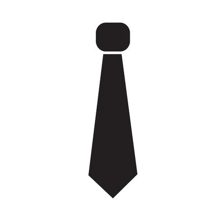 necktie icon Illustration sign design
