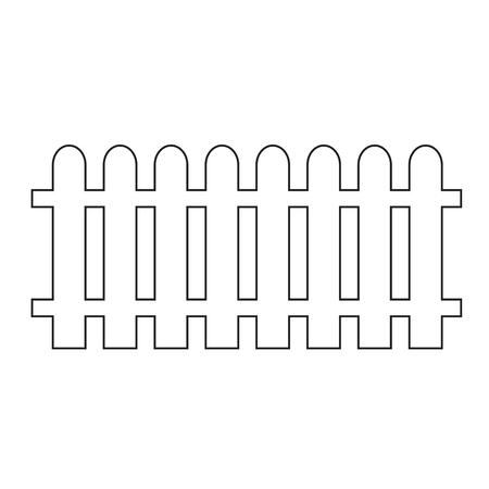 fence post: Fence Icon Illustration design