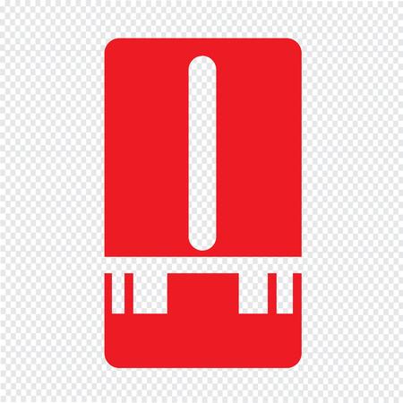humidity gauge: Weather Station meter icon Illustration design