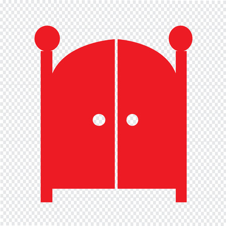 double entry: Front Gate Icon Illustration design