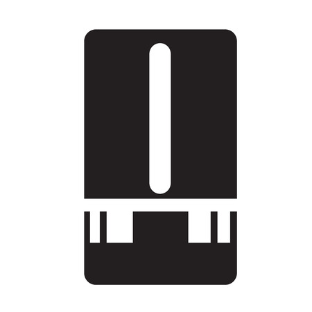 transmit: Weather Station meter icon Illustration design