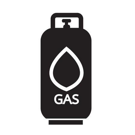 Liquid Propane Gas icon Illustration symbol design