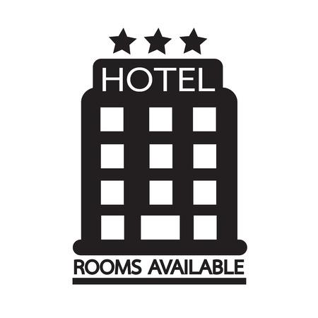 Hotel Rooms Available icon Illustration design Illustration