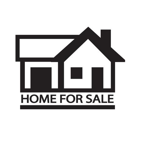 home sale: Home For Sale icon Illustration design Illustration