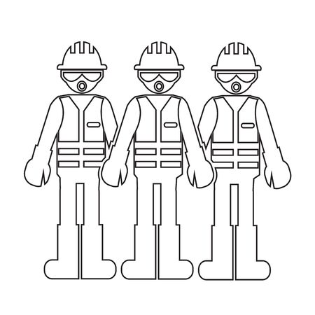 supervisor: Construction Worker People Icon Illustration design