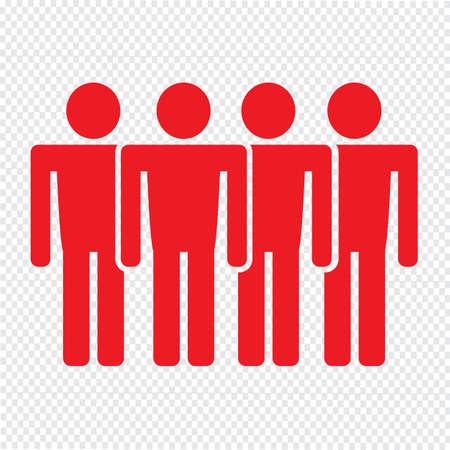 poblacion: Population People Icon Illustration design