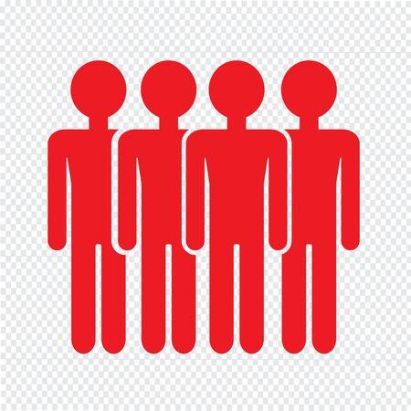 población: Población Ilustración de diseño Icono de la gente