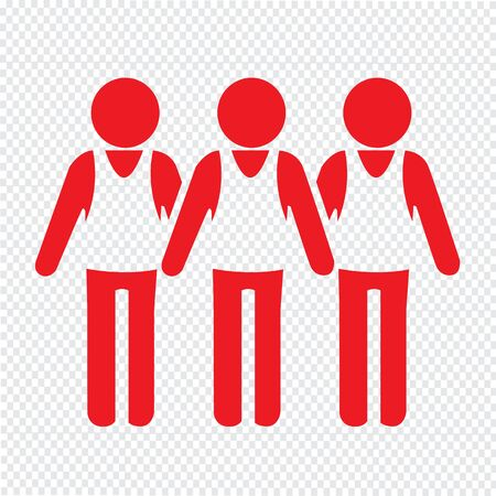 supervisor: Man People Icon Illustration design