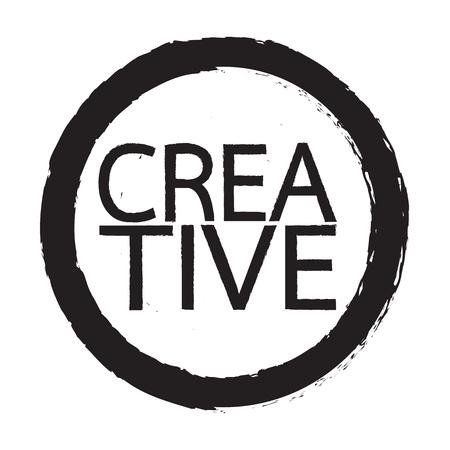 ingenuity: Creative word Illustration design Illustration