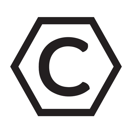 unauthorized: copyright symbol icon Illustration design Illustration