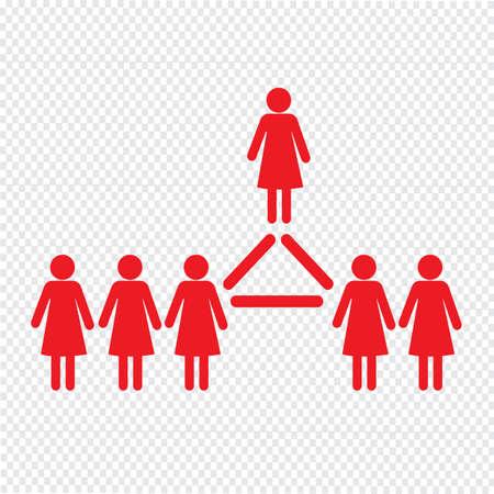 people icon: people icon Illustration design Illustration
