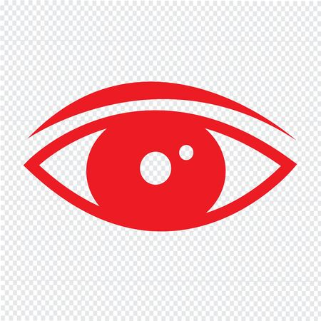 illuminati: Eye icon Illustration design