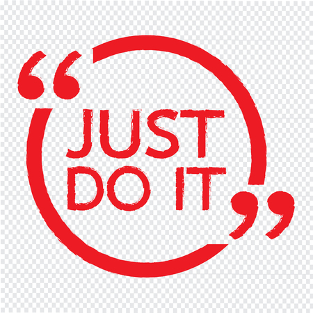 JUST DO IT Illustration design