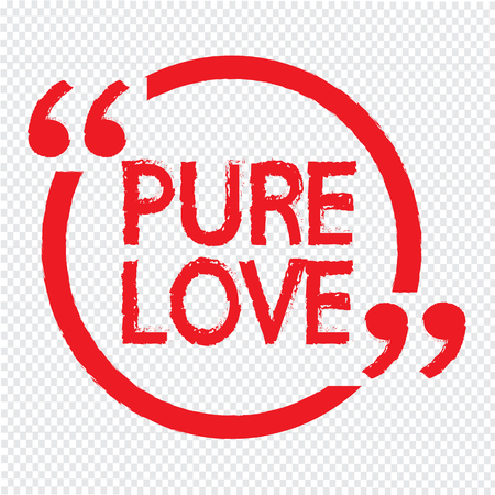 pure: PURE LOVE Illustration design