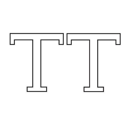 uppercase: Uppercase Text edit sign icon Illustration design