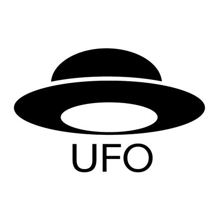 martians: UFO icon Illustration design