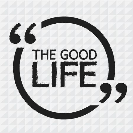 the good life: THE GOOD LIFE Illustration Design