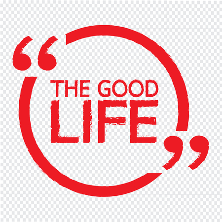 THE GOOD LIFE Illustration Design