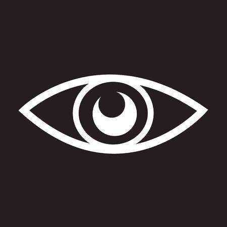illuminati: Eye icon Illustration design