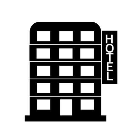 headquarters: Hotel icon Illustration design Illustration