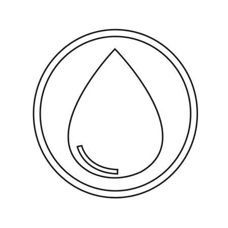pure element: water icon Illustration design Illustration