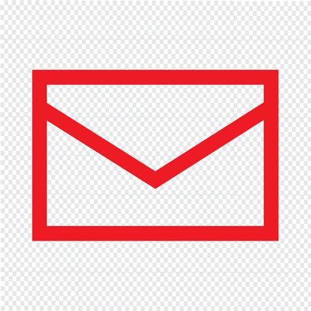 mail: mail icon illustration design