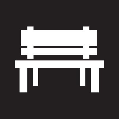 Ława Ikona projektowania ilustracji Ilustracje wektorowe