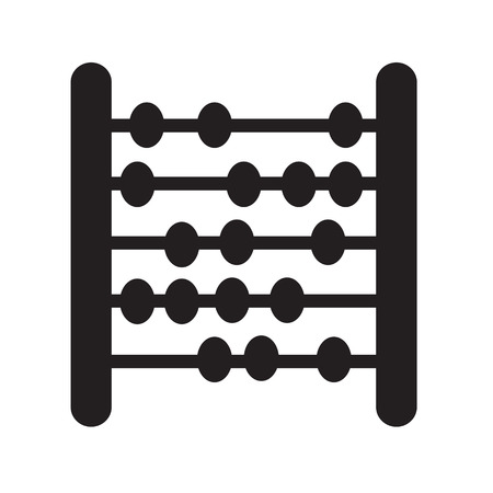 an abacus: abacus  icon Illustration design