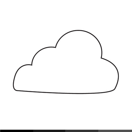 simplus: Cloud Icon Illustration design Illustration