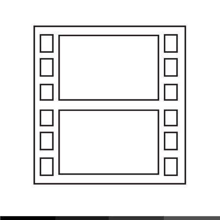 movie film: Movie Film Icon Illustration design Illustration