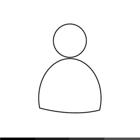 user profile: User Profile Icon Illustration design Illustration