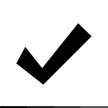 check icon: Check mark icon Illustration design Illustration