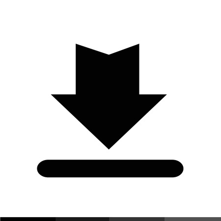 torrent: Download Button Icon , Upload Button Icon Illustration design Illustration