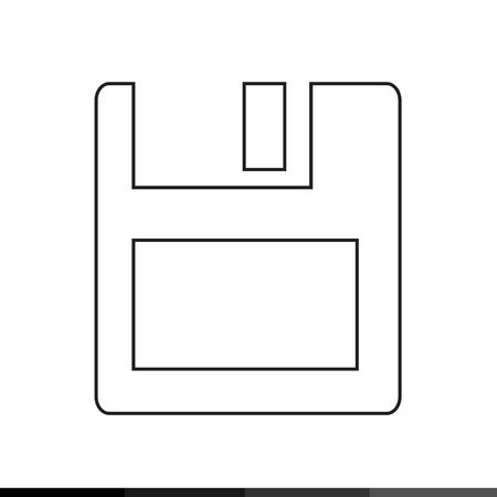 textfield: Floppy Disk  icon Illustration design