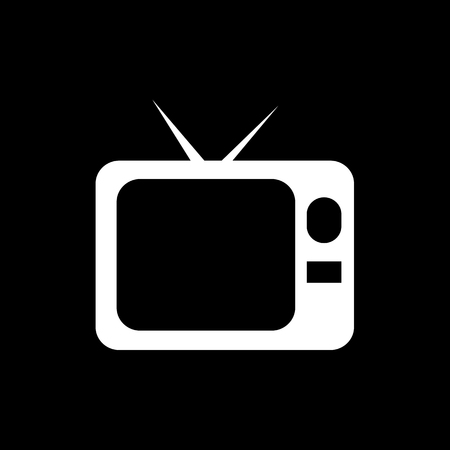 screen: Television Screen Icon Illustration design