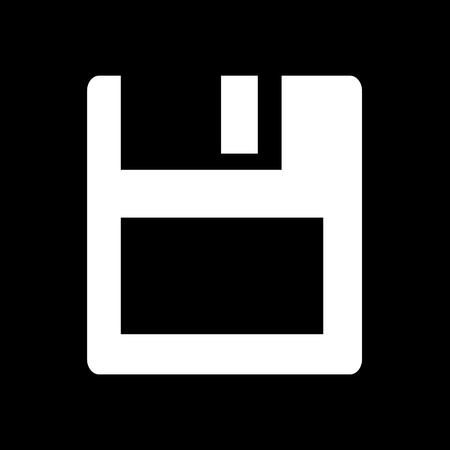 Disquette conception icône Illustration
