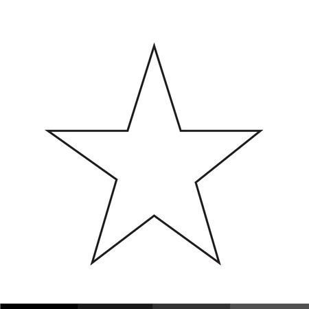 top class: Star Icon Illustration design